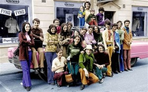 Fourteen-year-old Osama bin Laden - he's second from the right